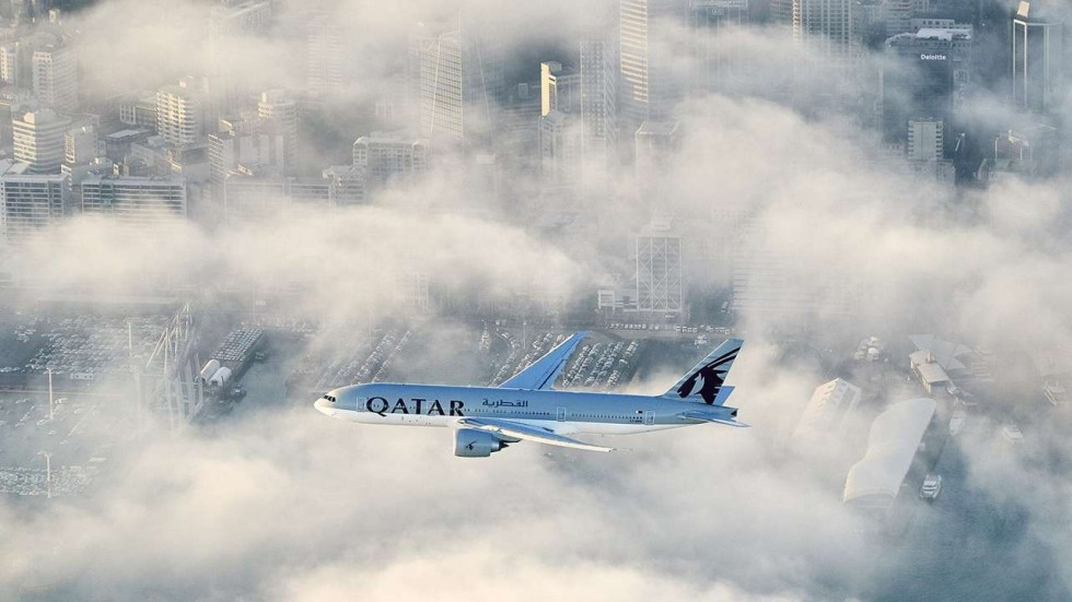At 17 plus hours this qatar airways flight from new zealand is agencies stopboris Choice Image
