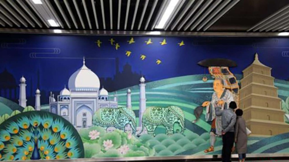 Athens In Turkey Chinese Passengers Mock Mistakes On Subway Murals