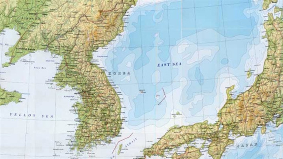 British Website Ditches Sea Of Japan After Korean Students - Japan map korea