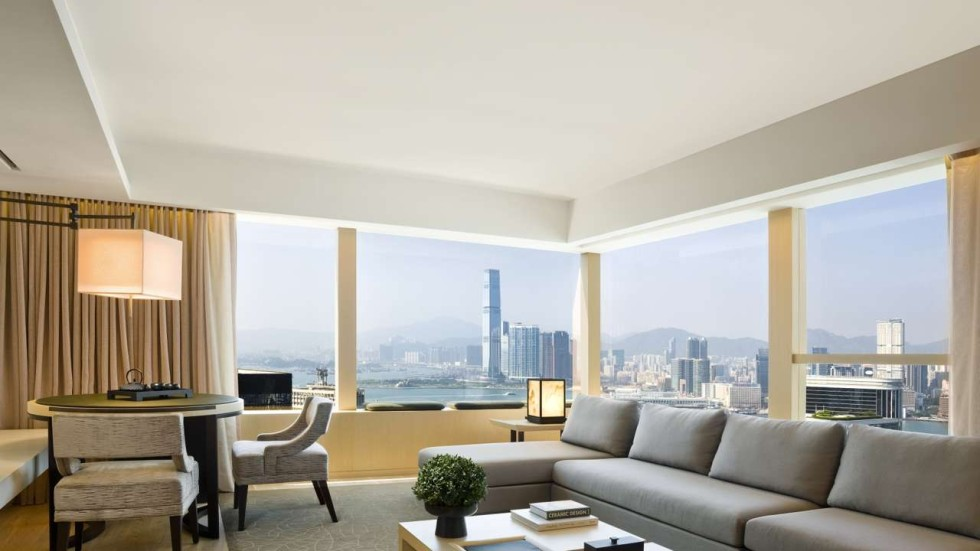 Designer Interiors Bring Extra Glamour To Hong Kong's Luxury New 3 Bedroom Serviced Apartment Hong Kong Concept
