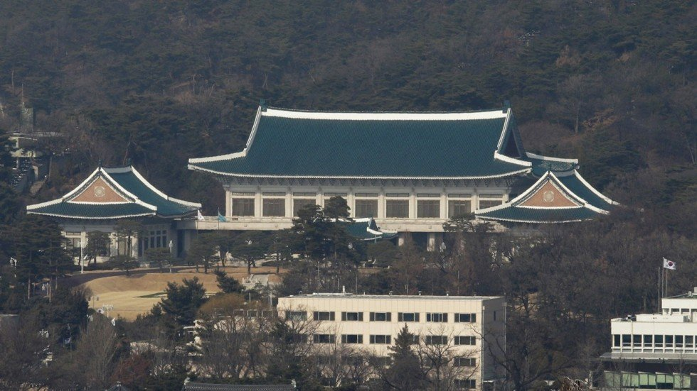 South korea blue house cryptocurrency