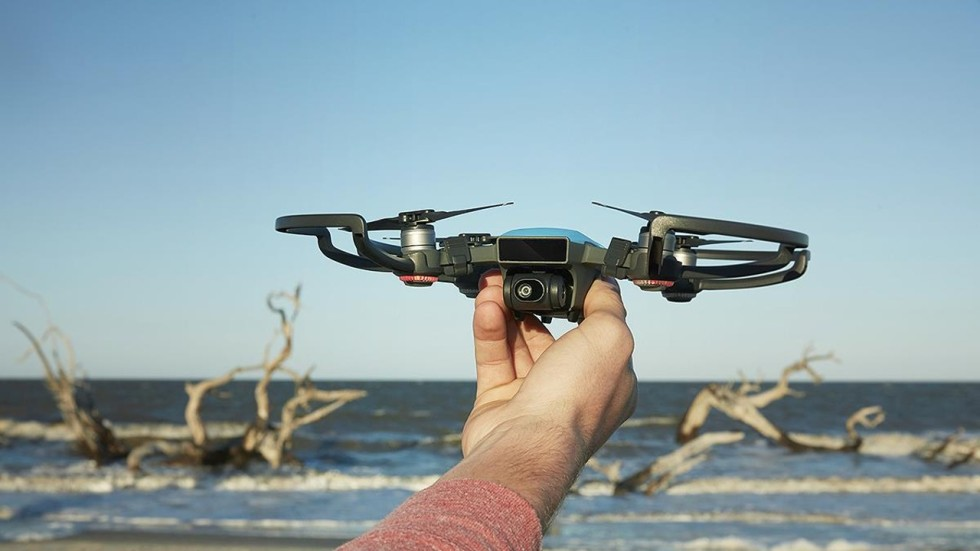 Djis Newest Drone The Spark Fits In The Palm Of Your Hand South