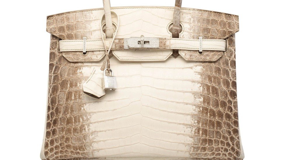 Hermes Himalayan Crocodile Birkin With Diamonds