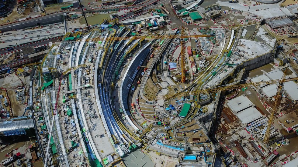Unveiled How The West Kowloon High Speed Rail Terminus In