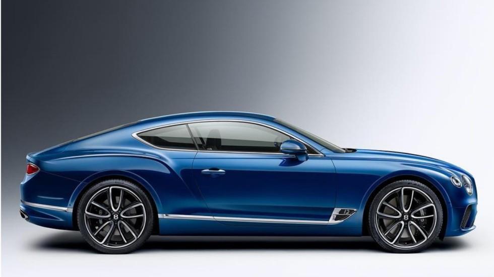 New Bentley Continental Gt To Debut At 2017 Frankfurt Motor Show