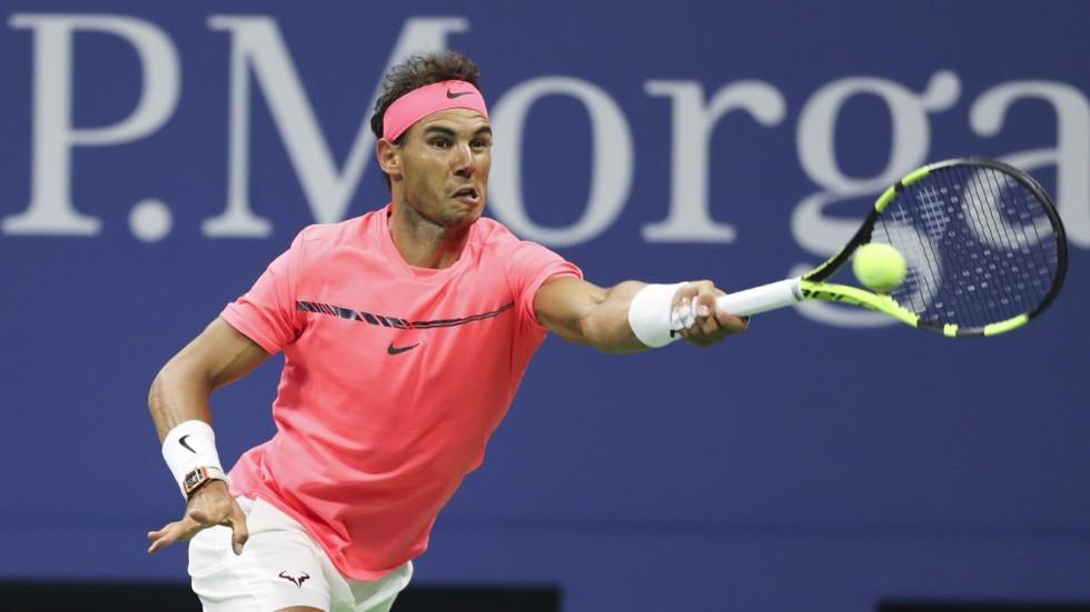 b5b2623057d2 Rafa Nadal battles into US Open last 16 and edges closer to Roger Federer  duel