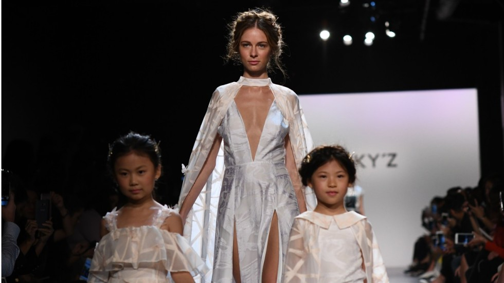 China leads parent child fashion charge at new york fashion week agence france presse stopboris Image collections