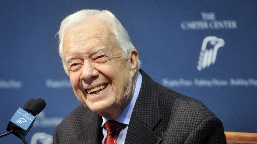 carter president. former us president jimmy carter says he would travel to pyongyang for talks