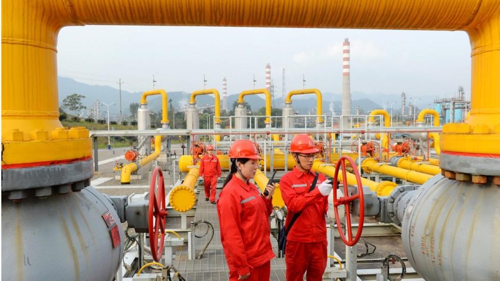 Resultado de imagem para China gás