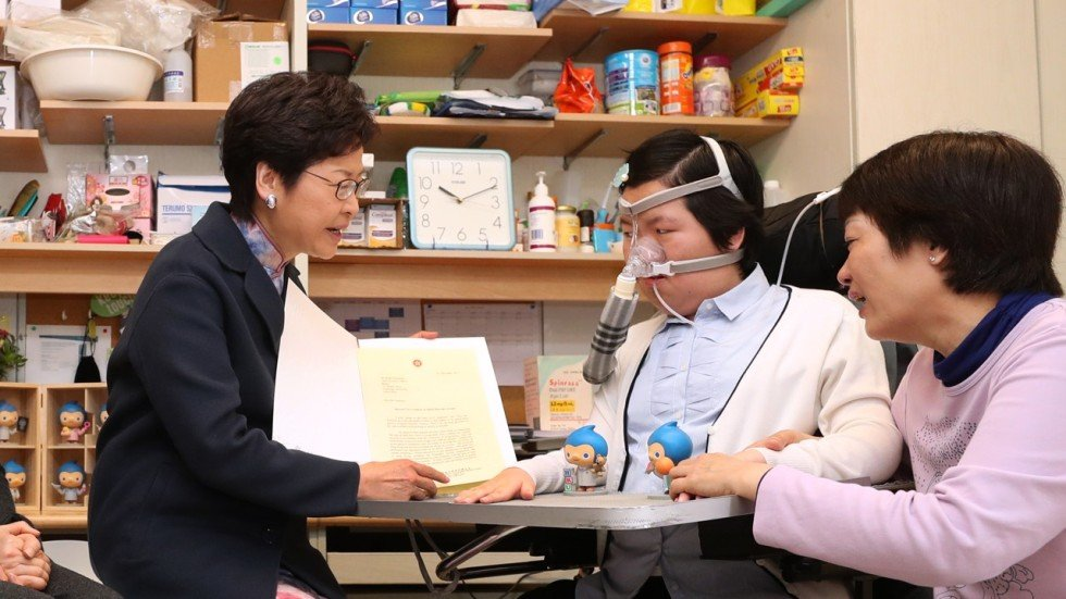Best Birthday Gift For Rare Disease Patient As Hong Kong Leader