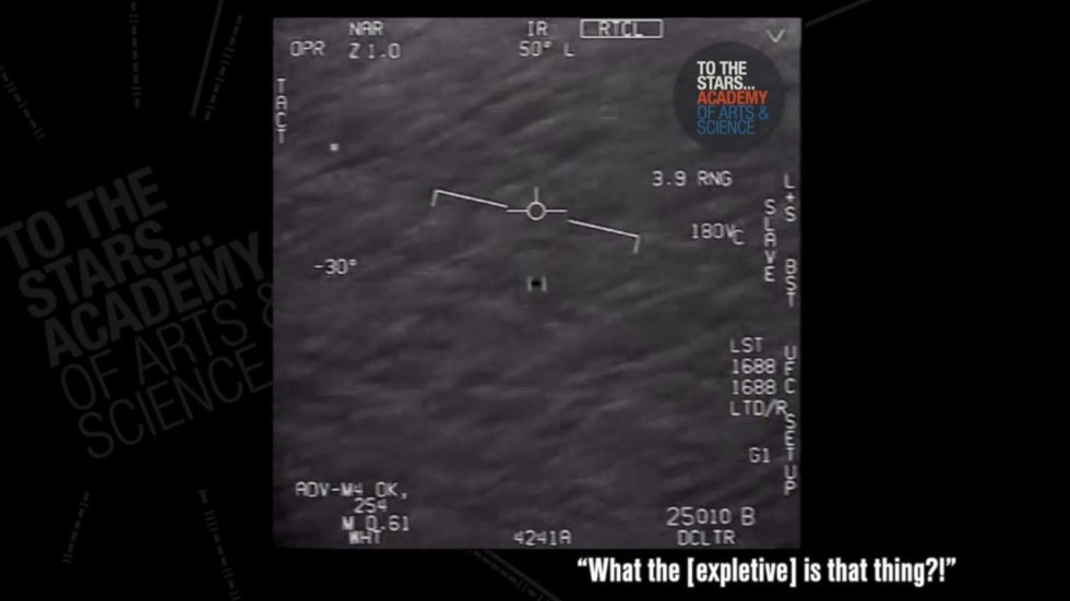 What is that thing?\' Newly released footage shot by US Navy pilots ...
