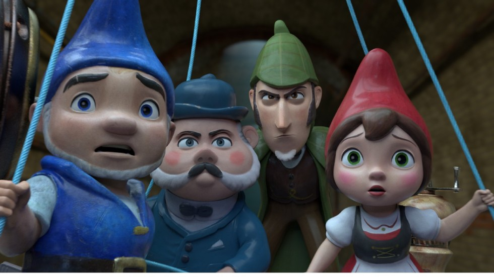 Sherlock Gnomes Film Review Sequel To Gnomeo Amp Juliet