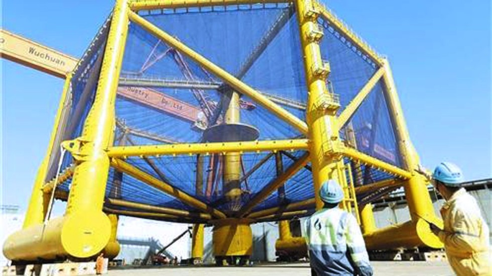 Chinese Fish Farm Tests Deep Sea Waters With Worlds Biggest