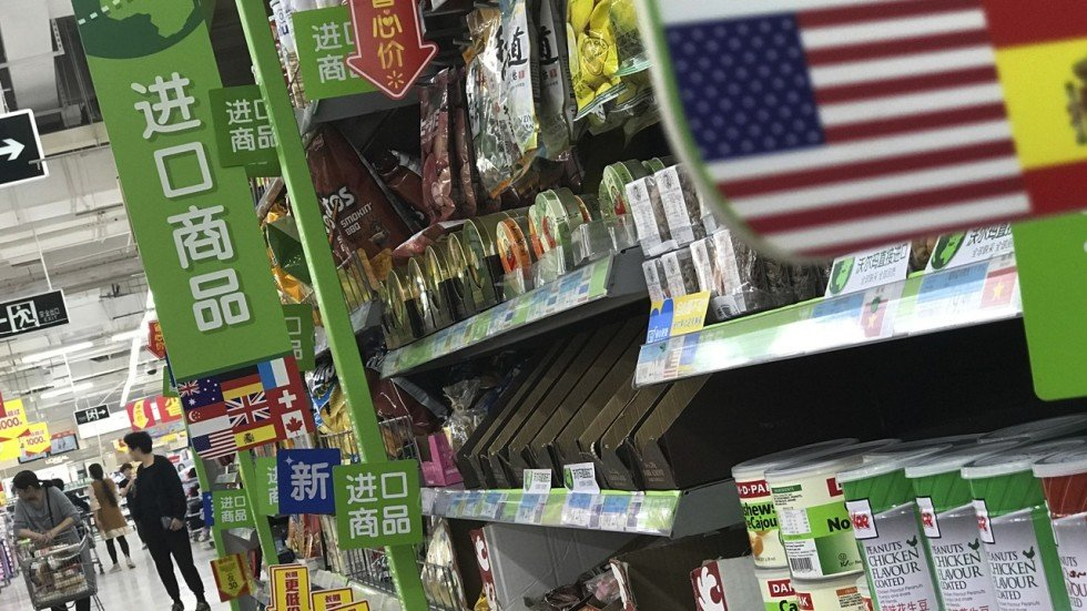Image result for photos of americans in talks with china over trade