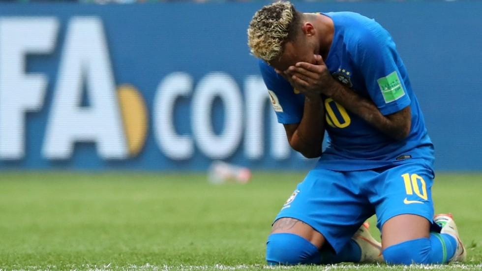 Image result for neymar fake falls