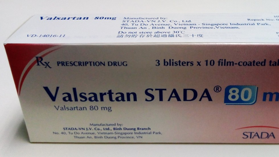 Hong Kong Health Department Issues Recall For Five Heart Drugs Containing Valsartan That Was Made In China