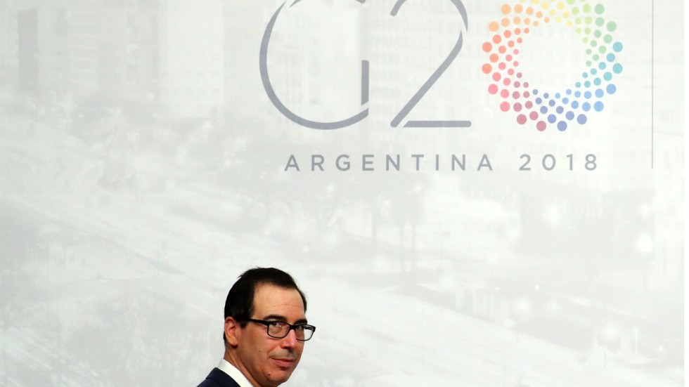 Us Steven Mnuchin Available For Talks But G20 Summit Brings No
