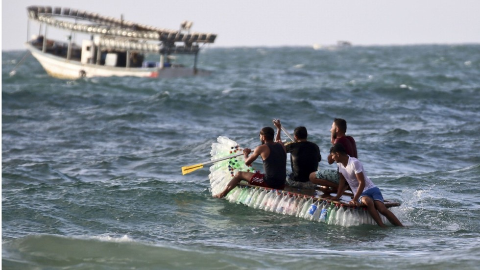 impoverished gaza fisherman needed to support his four children so