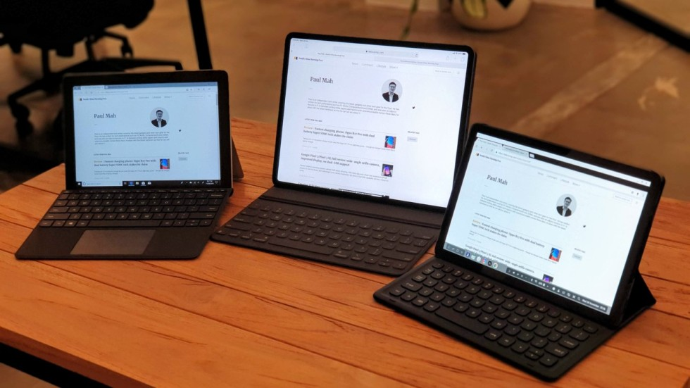 Apple, Samsung and Microsoft tablets tested to find the ...