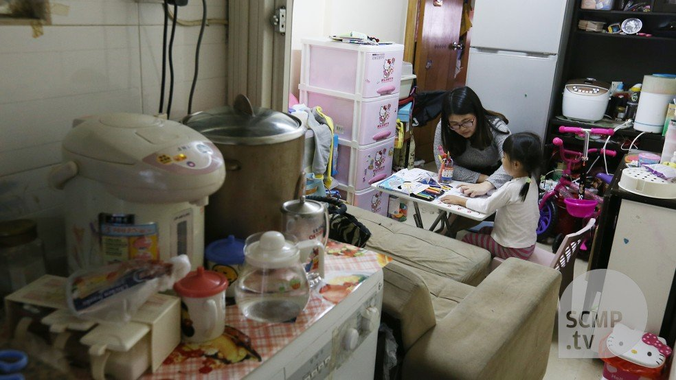 Small Changes Big Impact Creating Learning And Living Space For Hong Kong S Subdivided Flat