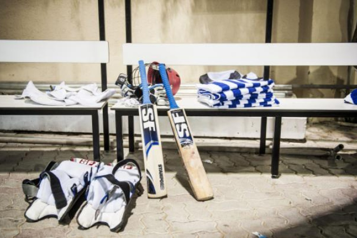 Behind the scenes at the Sharjah stadium, where the Afghan cricket team train and host matches.