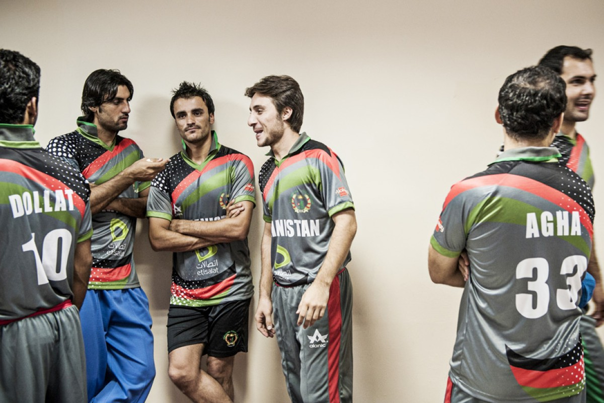 The Afghan cricket team is due to compete in the ICC World Twenty20 competition in Sri Lanka this week.