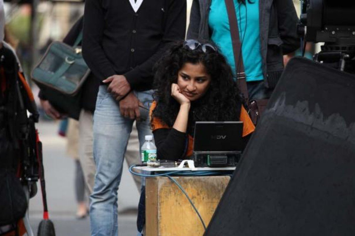 The film's writer and director Gauri Shinde.