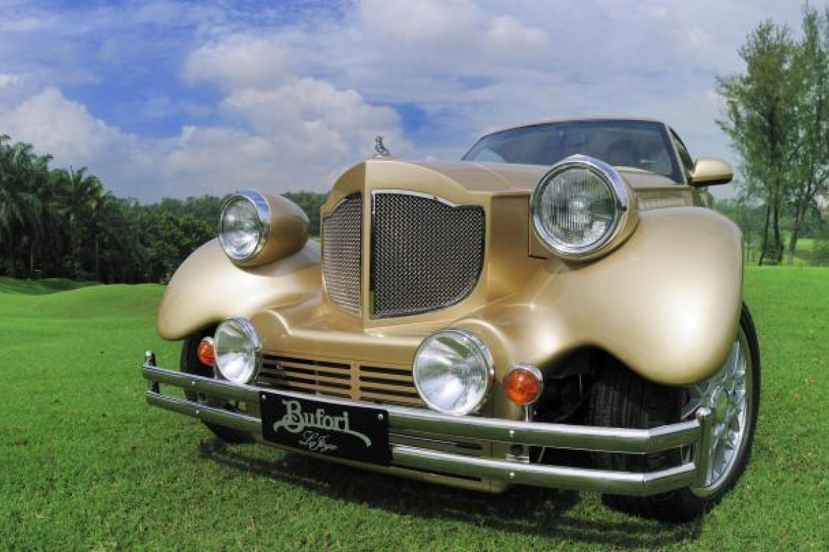 The Bufori La Joya is a handcrafted two-seater coupé with a rear-midmounted 2.7-litre V6 Quadcam engine.