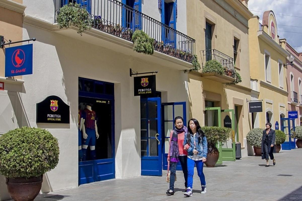 La Roca Village, near Barcelona, Spain.