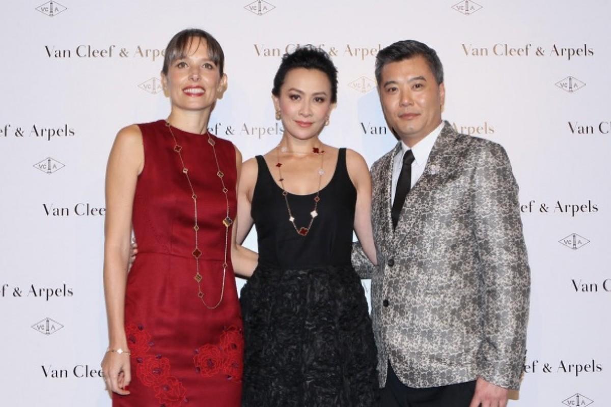 Catherine Renier, Carina Lau and Peter Cheung