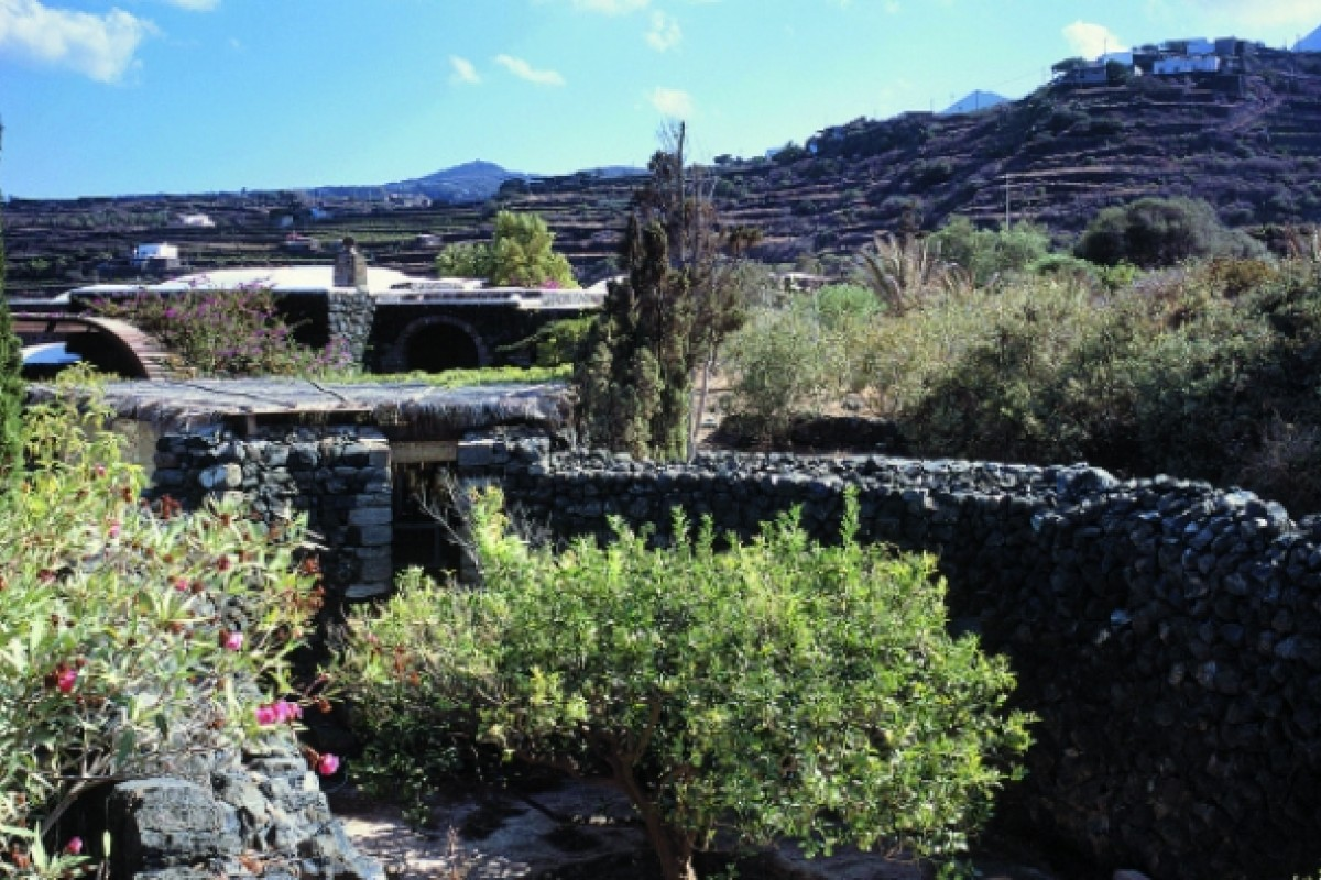 The designer finds the coarse wild terrain and black volcanic rock of Pantelleria humbling and strong.