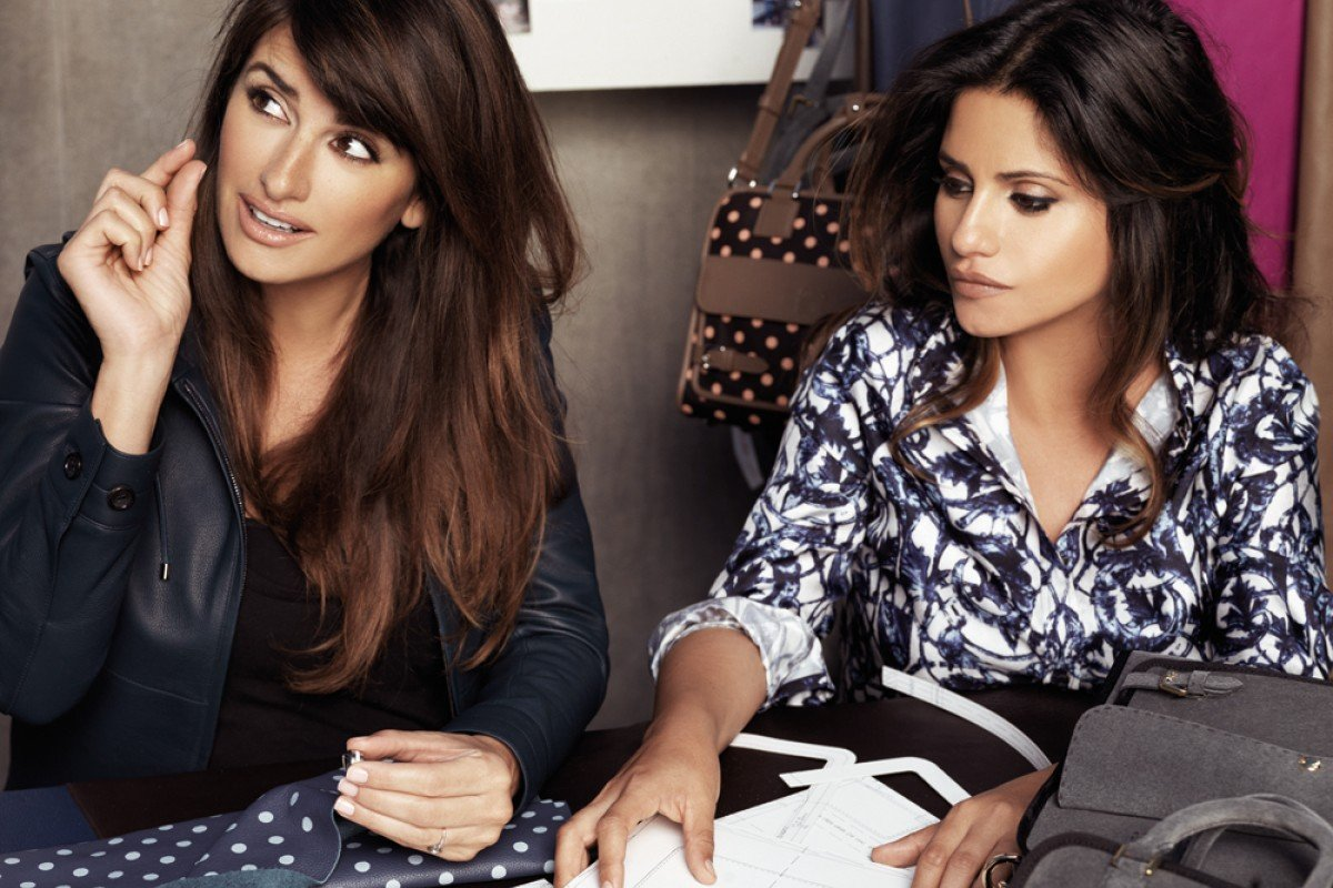 Penelope Cruz and her sister Monica get hands-on with their designs for the Loewe collection.