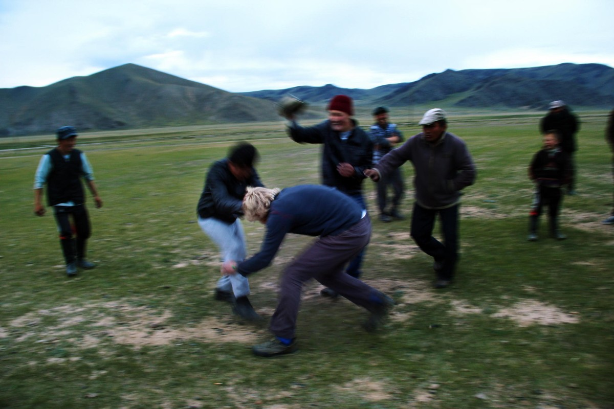 With wrestling having been a popular sport in Mongolia for 2,000 years, the odds are stacked against the average tourist.