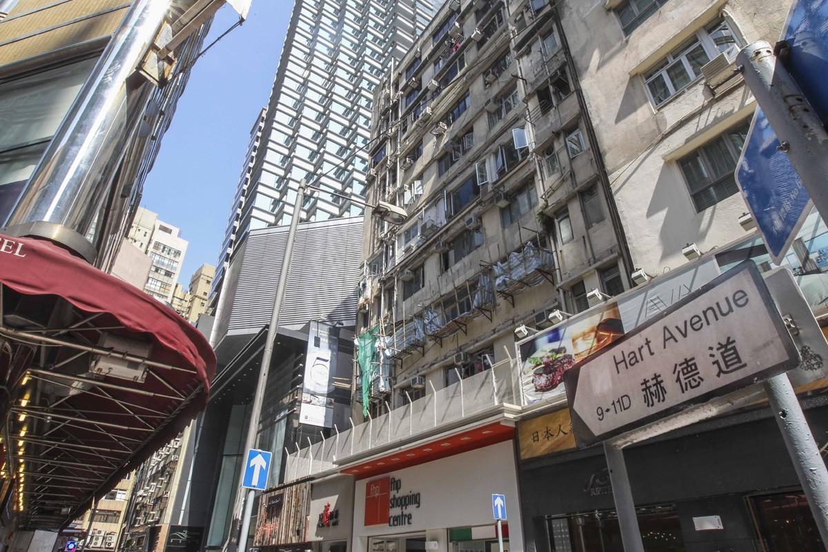 The Tsim Sha Tsui street that bears his name. Photo: K.Y. Cheng