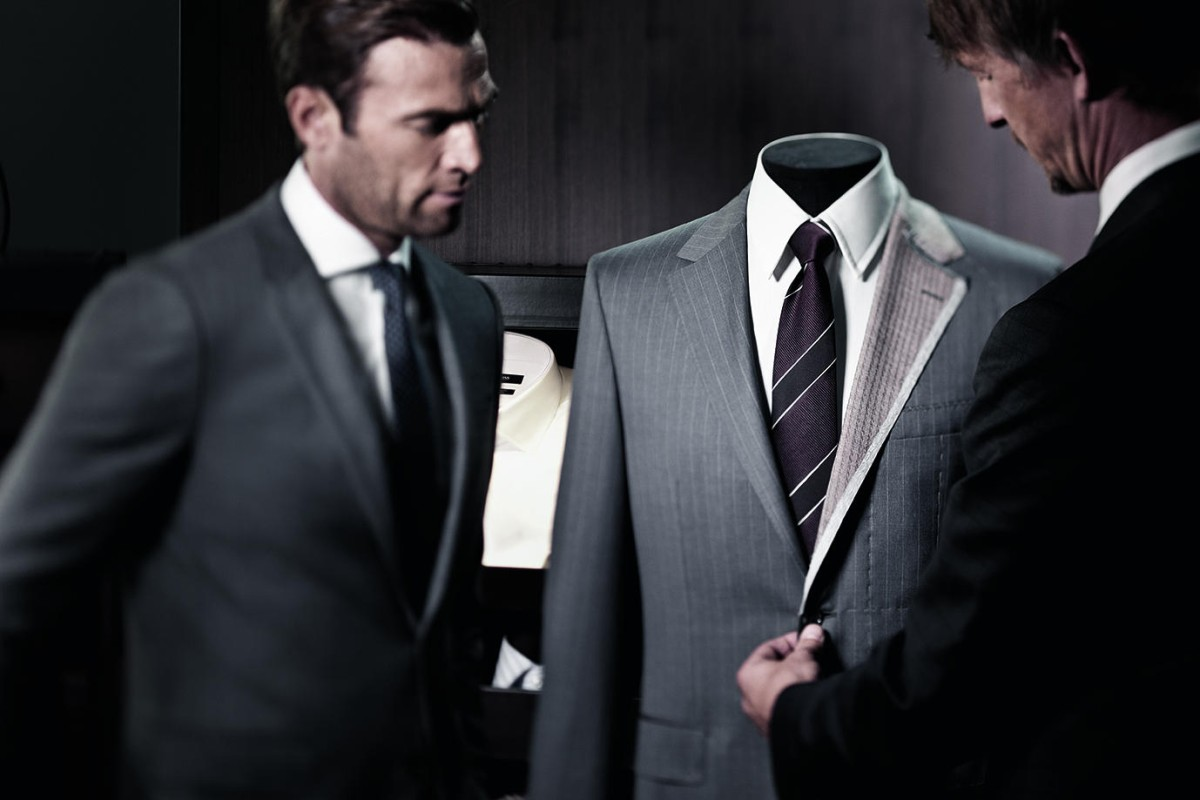 Hugo Boss offers a made-to-measure service for the well-dressed modern man.