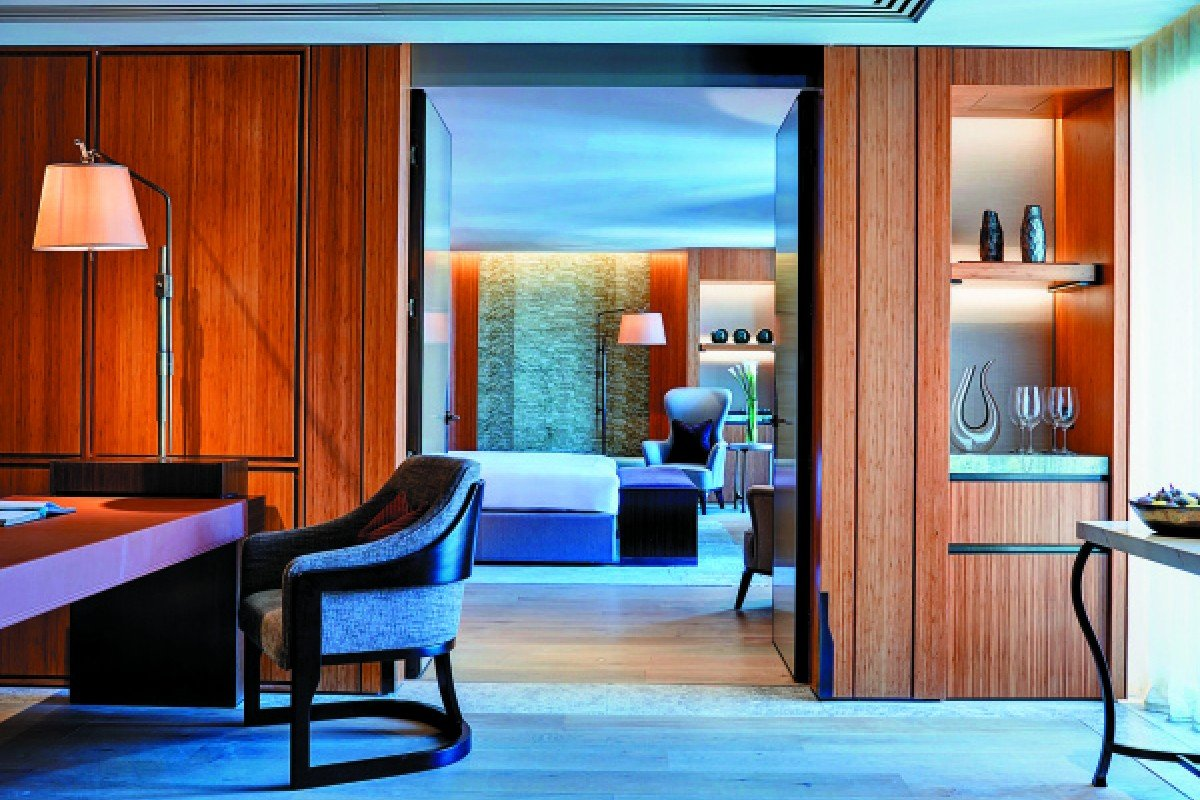 The supersuite at London's Berkeley hotel called Opus Suite is a bespoke luxury haven.