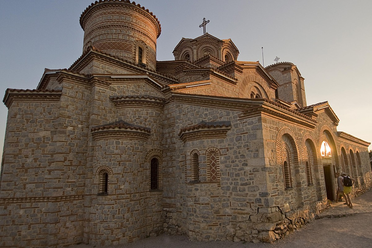 The Church of St Panteleimon, in Ohrid, Macedonia.
