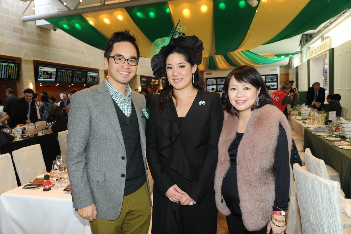 (From left): Adrian Cheng, Sabrina Fung and Jennifer Cheng