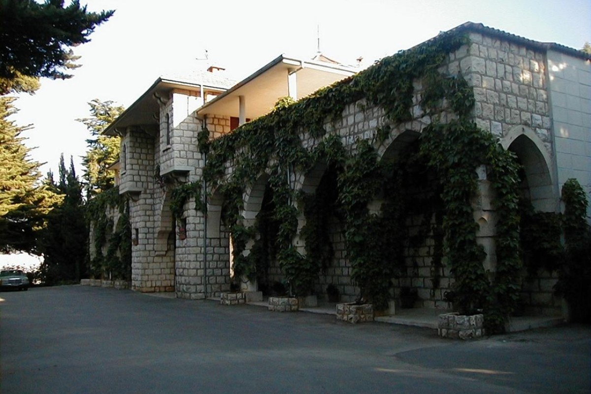 Châteaux Ksara and Kefraya (above) are two of the biggest wine producers in Lebanon.