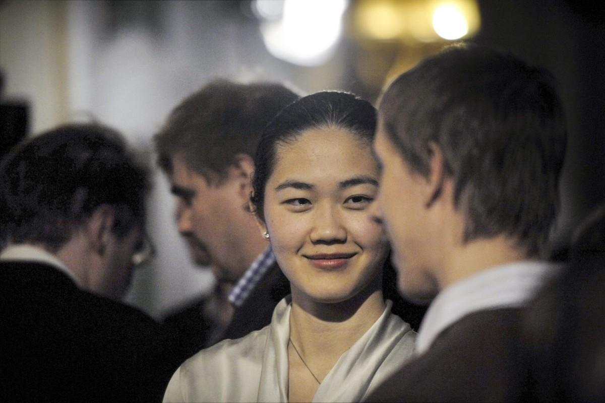 Belle Selene Xia, in October 2012. Photos: Antti Aimo-Koivisto/Lehtikuva; AFP