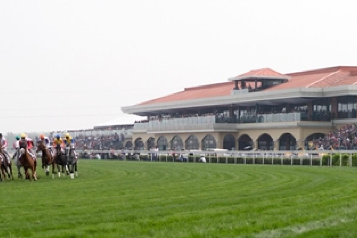 The running of the inaugural Chengdu/Dubai International Cup in April this year. Photo: Dubai Racing Club