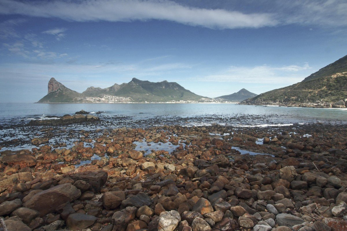 The view from the Tintswalo Atlantic luxury lodge, nestled between Hout Bay and Cape Town.