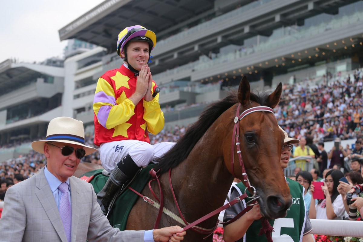 Trainer John Moore has Designs On Rome targeting the Sha Tin Trophy on Sunday. Photo: Kenneth Chan