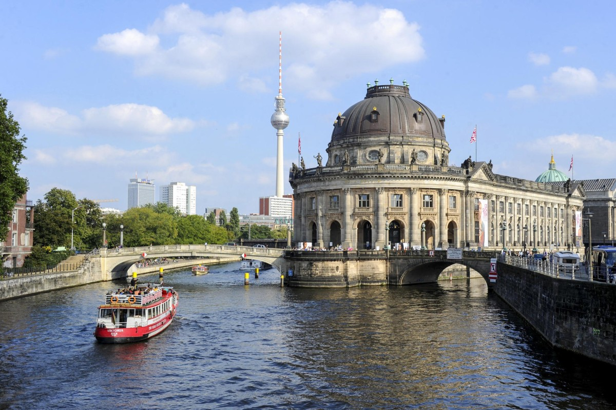 The Bode Museum, on Berlin's Museum Island.