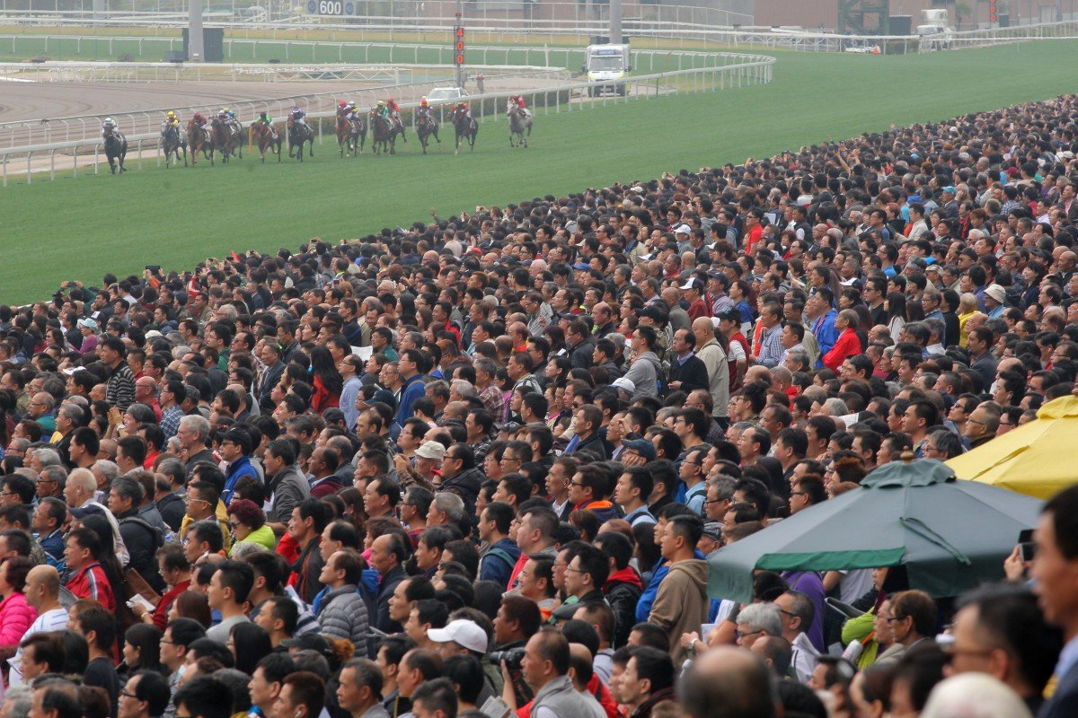 More than 85,000 punters packed into Sha Tin for the festive race meeting. Photo: Kenneth Chan