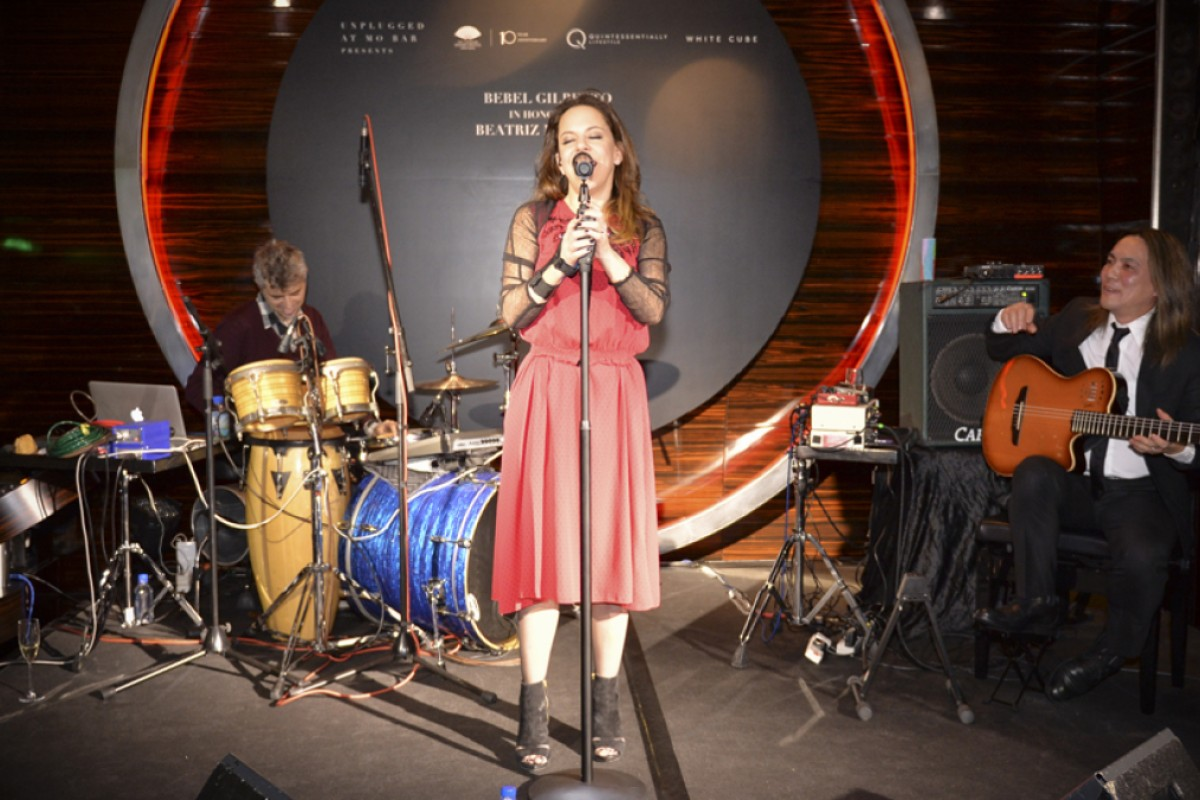Bebel Gilberto performs at the MO Bar, in the Landmark Mandarin Oriental, Central, on March 12.