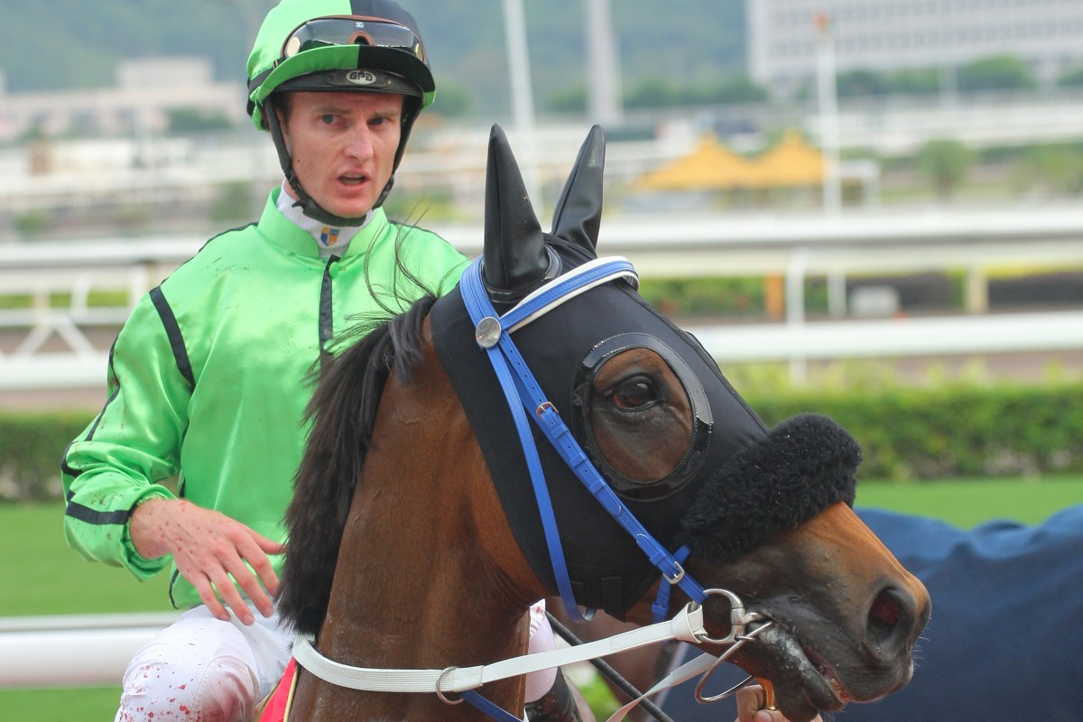 Zac Purton will not ride at today's QE II Cup meeting, but the horse he was down to partner in the HK$20m feature, Military Attack, has been passed fit to run. Photo: Kenneth Chan