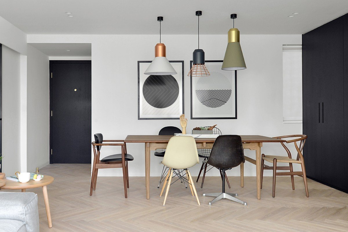 Scandinavian style Hong Kong Flat Showcases Owners