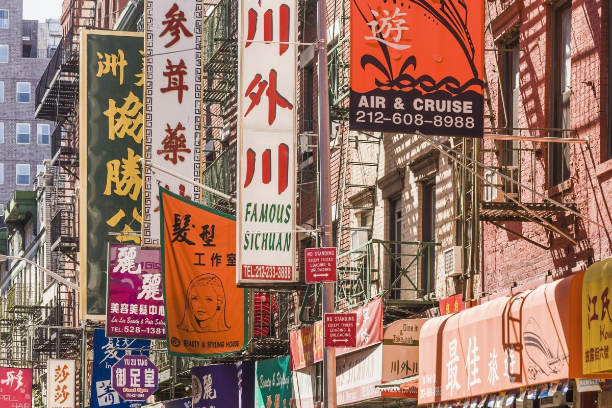 Chinatown, New York. Photos: Corbis