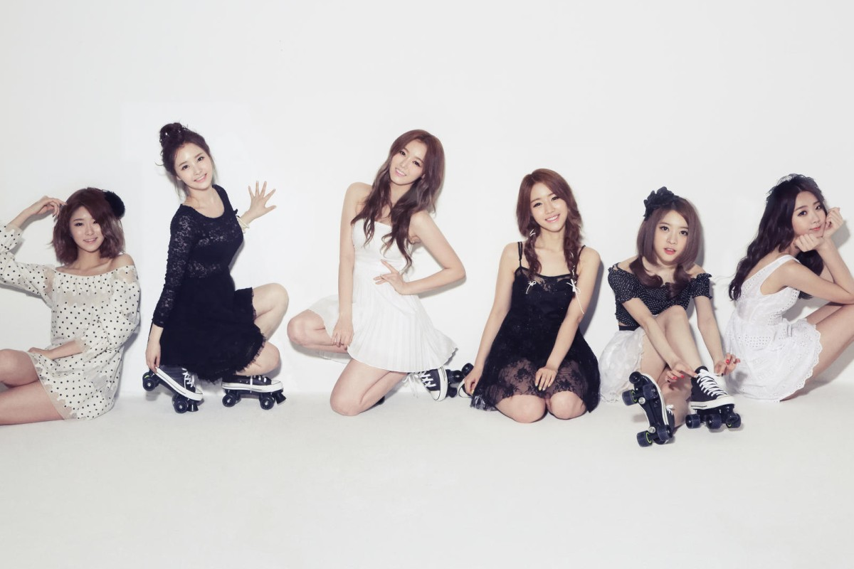 South Korean band Dal Shabet.
